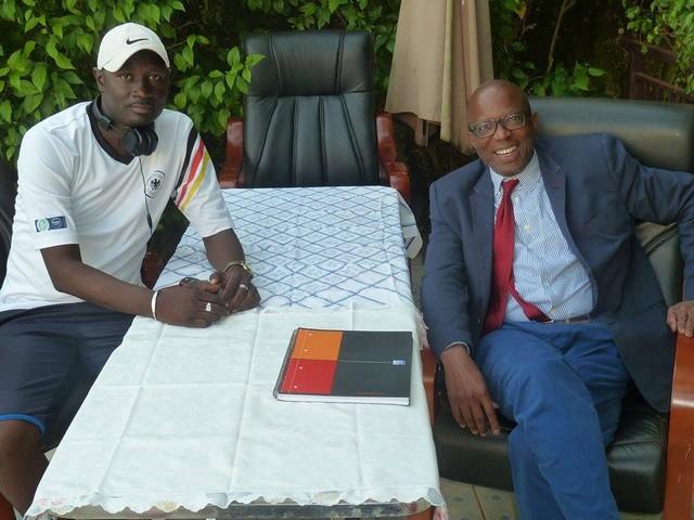 Mr Sékou Djibril CAMARA (Président de RATOMA-LEVALLOIS FOOTBALL CLUB)