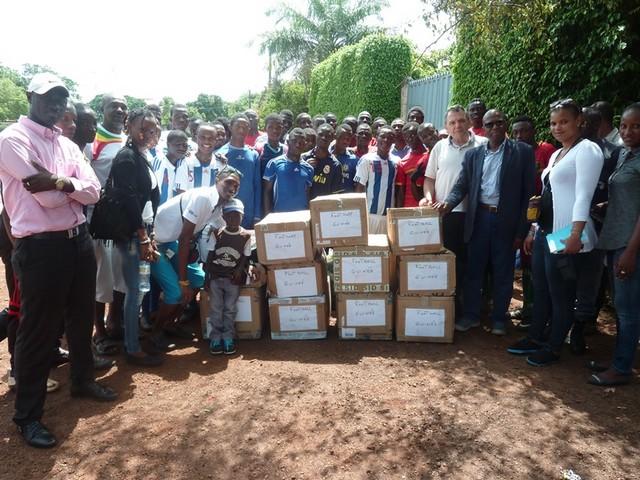 Mr BAH Ismaël ( Président de l'ONG Guinée Co- Développement )