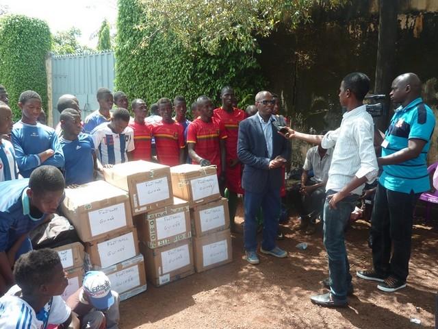 Mr BAH Ismaël (Président de l'ONG Guinée Co- Développement )