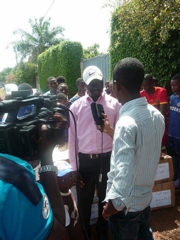 Mr Sékou Djibril CAMARA (Président de RLFC)